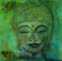 Frausein, Grün, Freude, Meditation