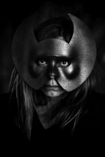 Maske, Lowkey, Frau, Tageslichtfotografie