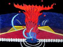 Malerei, Abstrakt, Synästhesie, Ölfarben