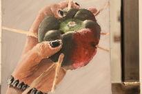 Projekt, Acrylmalerei, Natur, Schwarz
