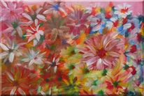 Bunt, Natur, Farben, Acrylmalerei