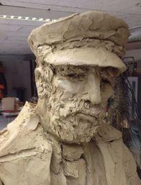 Skulptur, Ton, Plastik, Arbeit