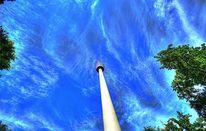 Himmel, Baum, Turm, Stuttgart