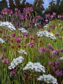 Flockenblumen, Skabiosen, Malerei