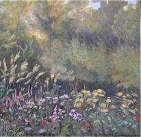 Pflanzen, Landschaft, Malerei