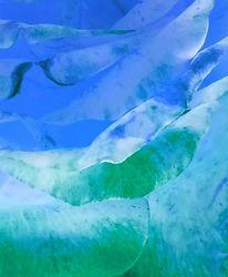 Blau, Abstrakt, Traum, Digitale kunst