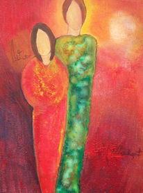 Malerei, Paar
