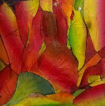 Menschen, Regenbogen, Fantasie, Seidenpapier