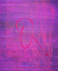 Malerei, Unterschrift