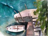 Tessin, Lago, Fenster, Blick