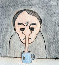 Tee, Dunkel, Lügen, Pinocchio