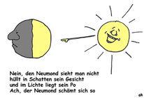 Licht, Astronomie, Schäm, Neumond