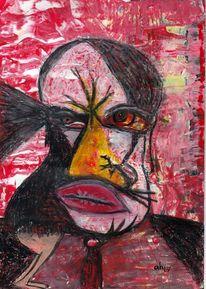 Kommunikation, Odin, Affektmalerei, Munin