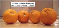 Cellulite, Selbsthilfe, Küche, Orange