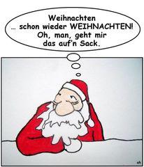 Sack, Weihnachten, Murmeltier, Weihnachtsmann