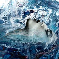 Wasser, Blase, Pouring, Gedanken