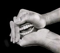 Zähne, Finger, Halt, Hände