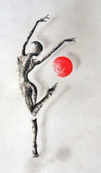 Tanz, Körper, Malerei