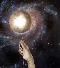 Sternenhimmel, Bunt, Leuchten, Fotografie