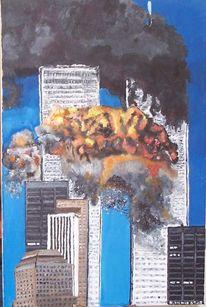 Handel, Centre, Ölfarben, Anschlag
