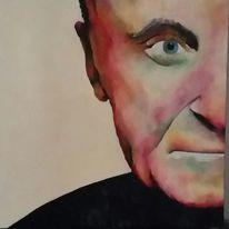 Gesicht, Acrylmalerei, Malerei,