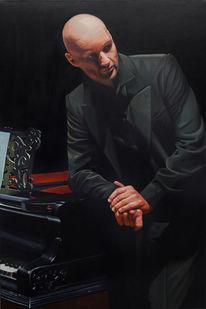Gemälde, Ölmalerei, Roman trekel, Maki art studio