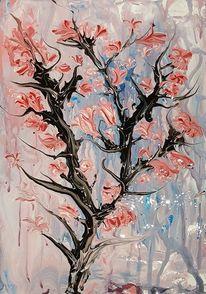 Blüte, Abstrakt, Blumen, Busch
