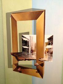 Acrylmalerei, 3d, Malerei,