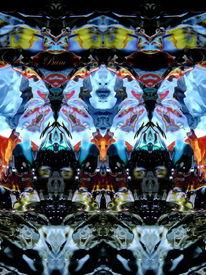 Spiegelung, Unterwasser, Fantasie, Elemente