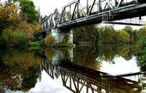 Spiegel, Brücke, Wasser, Architektur