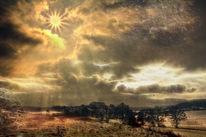Sonnenaufgang, Winterlandschaft, Fotografie