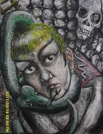 Selbstportrait, Darkart, Dustere kunst, Outsider art