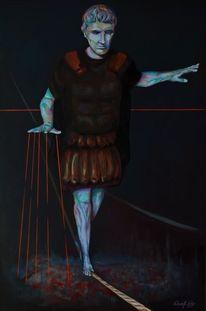 Expressionismus, Malerei, Portrait, Caligula