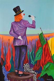 Rot, Expressive malerei, Zeitgenössische kunst, Pop art