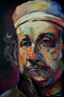 Portrait, Acrylmalerei, Gemälde, Malerei