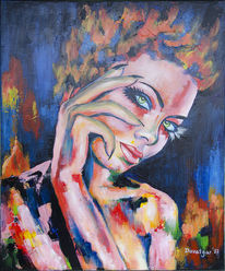 Eva pigford, Akt, Person, Portrait