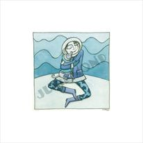 Kälte, Blau, Freunde, Umarmung