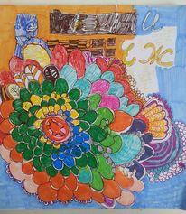 Blumen, Bunt, Fau, Zeichnungen