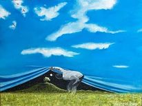 Himmel, Feld, Landschaft, Tag