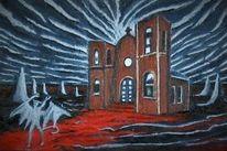 Teufel, Kirche, Malerei