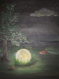 Malerei, Lichtblicke, Ei