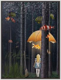 Fantasie, Alices, Nacht, Fische
