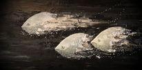 Malerei, Glücksbringer, Fische