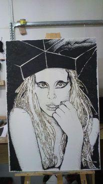 Lady gaga, Zeichnungen