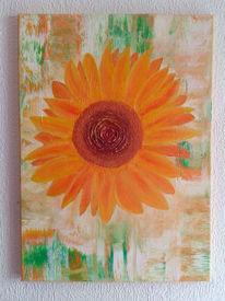 Sonnenblumen, Abstrakt, Frühling, Sommer