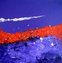 Rot, Weiß, Blau, Malerei