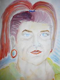 Dani, Portrait, Skizze, Zeichnungen