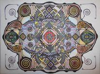 Farben, Schwarz, Aquarellmalerei, Tuschmalerei