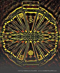 Hindismus, Symbol, Lebensrad, Sakralkunst