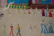 Musik, Textilkunst, Tänzer, Ballerina